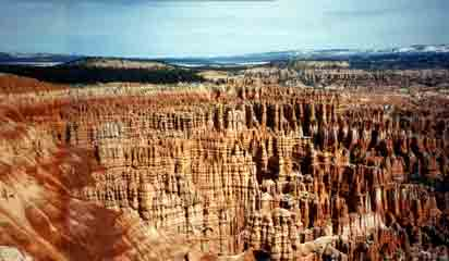 Photograph of Bryce Canyon - Description Follows